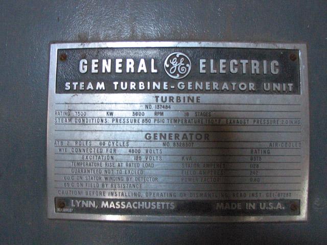 Gp Powerhouse And Coal Bunker Turbine Room